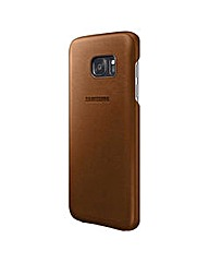 Samsung Galaxy S7 Leather Cover Brown