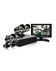 Swann Hi-Res 4 Camera CCTV Starter Kit