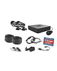 Swann Hi-Res 2 Camera CCTV Starter Kit