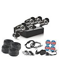 Swann Hi-Res 4 Cam Expandble CCTV Kit