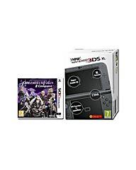 New 3DS XL Black  Fire Emblem Conquest