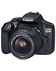 Canon EOS 1300D SLR Camera 18-55 IS lens