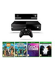 Xbox bundle + Halo 5 + kinect