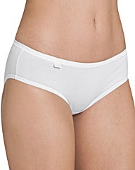 Sloggi Evernew White Hipster Briefs