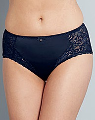 Berlei Heaven Lace Navy Briefs