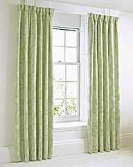 Rectella Hydrangea Lined Curtains