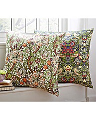 2 Pack William Morris Print Cushions