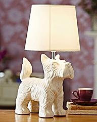 Scottie Dog Table Lamp