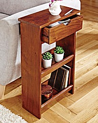 Solid Hard Wood Slim Sofa Table