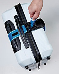 3-in-1 Luggage Strap with Lock and Scale