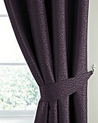 Mottle Interlined Curtains