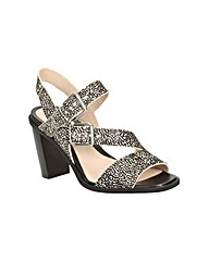 Clarks Womens Image Dazzle Standard Fit