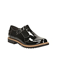 Clarks Womens Griffin Monty Wide Fit