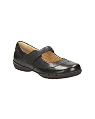 Clarks Womens Un Hazel Wide Fit