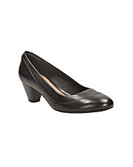 Clarks Womens Denny Harbour Wide Fit