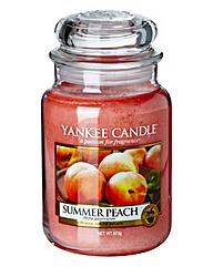 Yankee Candle Summer Peach Large Jar