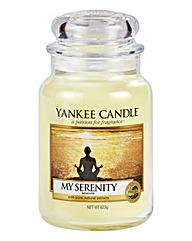Yankee Candle My Serenity Jar