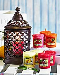 Yankee Candle Portofino Lantern & Votive