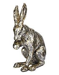 Sitting Hare Figurine