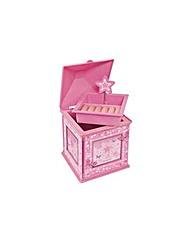 Butterfly Stars Musical Jewellery Box