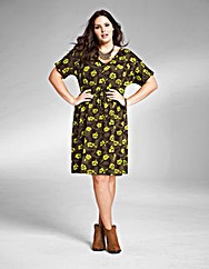 Jeffrey & Paula Jersey Print Dress