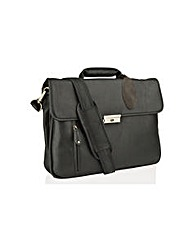 Woodland Leather Laptop Bag