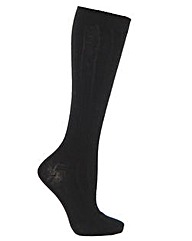 Cosyfeet Wool-rich Knee High Socks