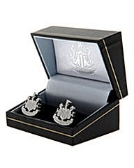 Newcastle Utd S/Steel  Crest Cufflinks