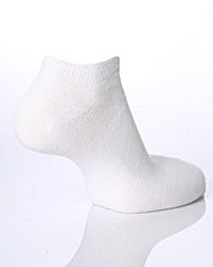 Sockshop Plain Bamboo Trainer Socks