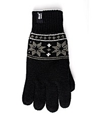 Heat Holders Fairisle Gloves