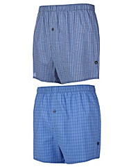 2 Pack Farah Woven Boxers