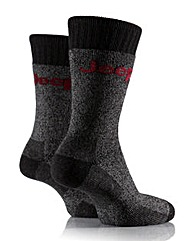 2 Pair Jeep Chunky Boot Socks