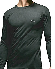 Jeep Long Sleeve Thermal T- Shirt