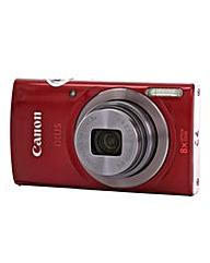 Canon IXUS 160 Camera Red 20MP 8xZoom