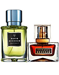 Beckham Instinct and Intimately 30ml EDT