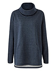 Label Be Cowl Neck Pullover