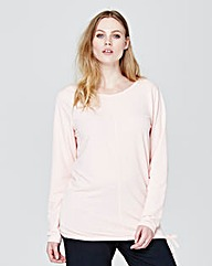Long Sleeve Blouson Top