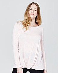Label Be Long Sleeved Loose Fit Tee
