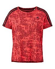 AY4768 Adidas 3 Stripe T-Shirt