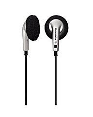 Thomson EAR1030 Earphones Black/Silver