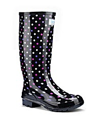 Splash Miss Polka EEE Wide Wellies