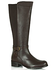 Daniel Medel Brown Knee High Boot