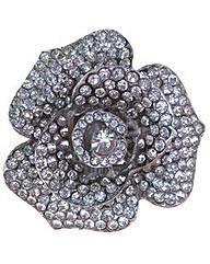 Perfect Diamante Flower Trim