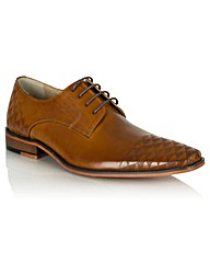 Daniel Bridport Tan Perforated Lace Up