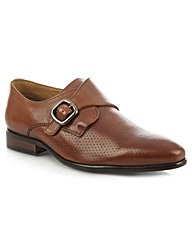 Daniel Austell Leather Perforated Shoe