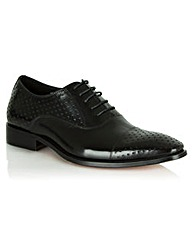 Daniel Black Leather Oborne  Lace Up