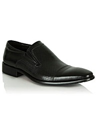 Daniel Black Leather Bovington Slip On