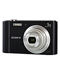 Sony DSC-W800 Camera Black 20.1MP
