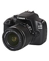 Canon EOS 1200D SLR 18-55mm IS II 18MP