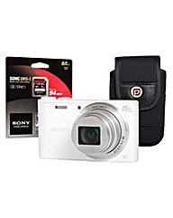 Sony DSC-WX350 White Camera Kit